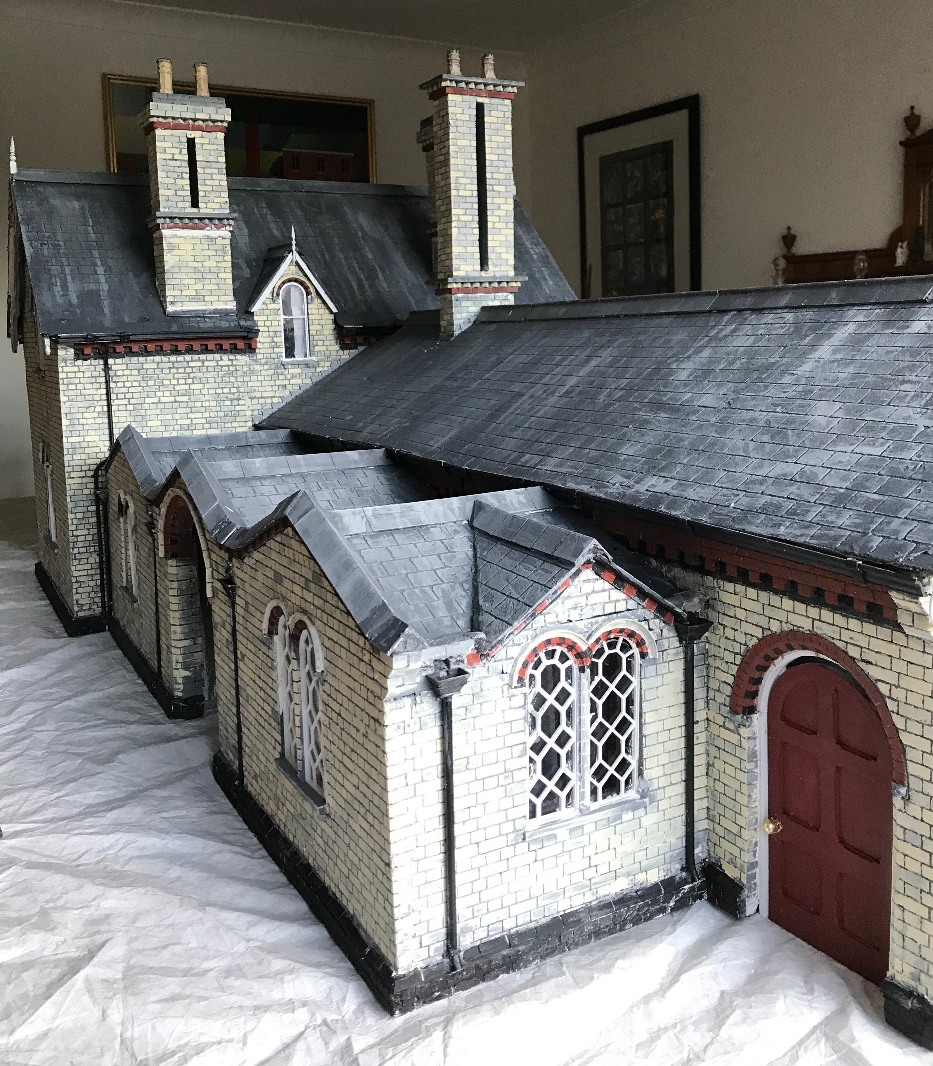 Great Glen Station in 1/12th scale